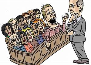 The science of getting out of jury duty.