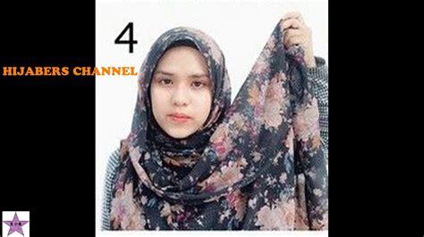 gambar tutorial hijab indah alzami tutorial hijab