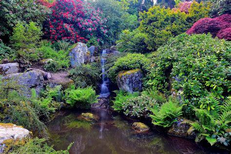 kubota, Garden, Seattle, Washington, Garden, Waterfall ...