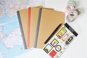 Carnet De Voyage Original : diy un carnet de voyage vintage ~ Preciouscoupons.com Idées de Décoration
