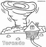 Tornado Coloring Pages Printable Cartoon Sheets Drawing Sheet Natural Tornados Print Disasters Tornadoes Air Drawings Craft Preschool Draw Worksheets Oz sketch template