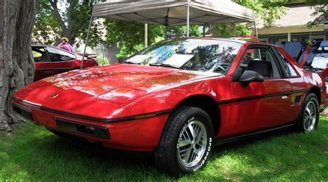 Pontiac Fiero Se by 1984 Pontiac Fiero Exterior Pictures Cargurus