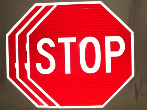 Stop Sign 30