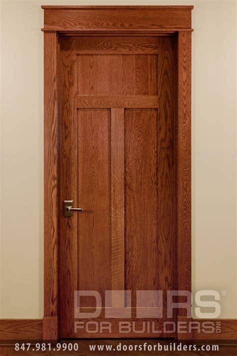 Craftsman Style Custom Interior Wood Doors  Custom Wood