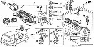 Combination Switch For 2003 Honda Stream Rn1