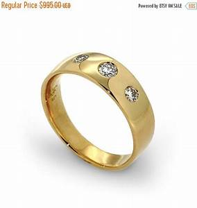 clearance sale 35 off three stone diamond ring unique by With wedding ring outlet