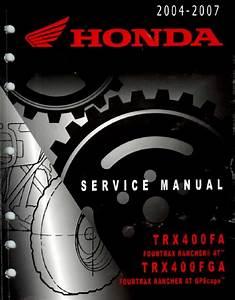 Honda Rancher Trx400fa