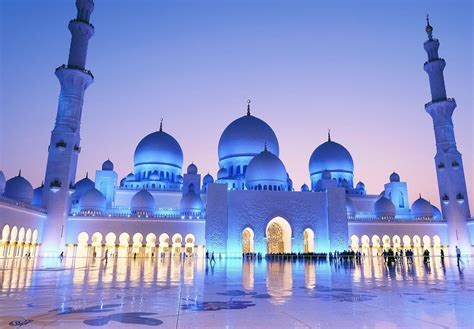 Sheikh Zayed Grand Mosque Abu Dhabi United Arab Emirates