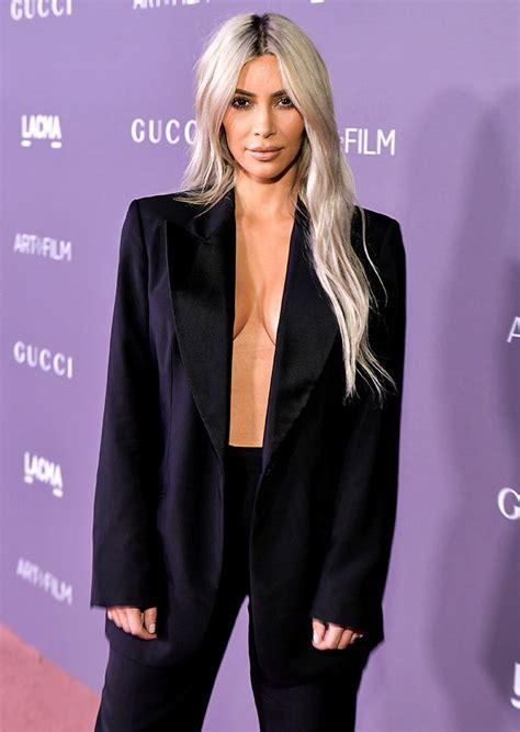 Kim Kardashian Goes Shirtless On The Red Carpet Rediff