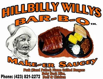 Hillbilly Hillbillys Bbq Willys Catering Merchantcircle