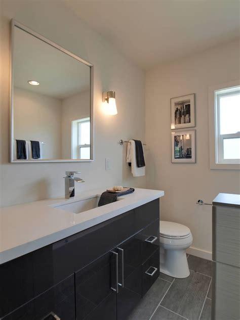 dkbc high gloss acrylic grey flat  bathroom vanities