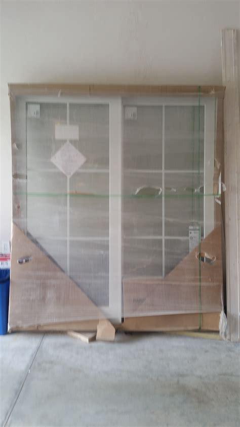 brand new marvin sliding glass door diggerslist