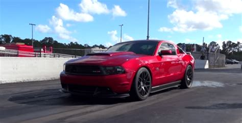 Stock Cars With Turbo by Turbo Ford Mustang Hits 9 Sec On Stock Motor Cars