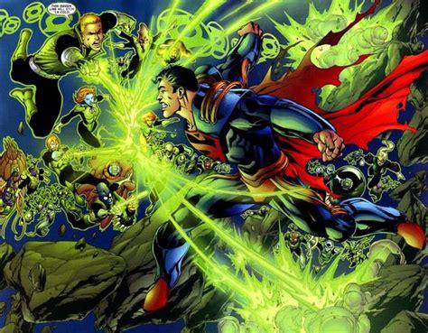 green lantern vs superman random thoughts graphic novels infinite crisis part seven finale