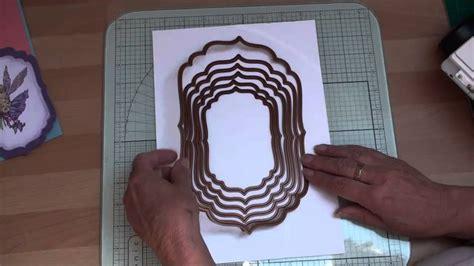 Die Cutting And Spellbinders (cardmakingmagiccom) Youtube