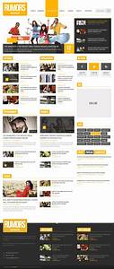 news magazine homepage psd template download download psd With news site template free download