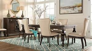 Westerleigh Oak 5 Pc Dining Room - Dining Room Sets Dark Wood