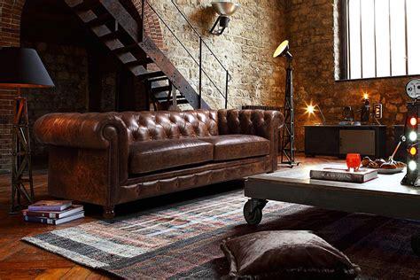 canapé anglais chesterfield un canapé chesterfield pour un style affirmé