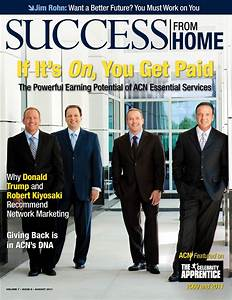 The ACN Co-Founders posing for a SUCCESS magazine photo. # ...