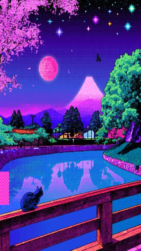 Aesthetic 8 Bit Wallpaper Iphone by Pixel Wallpaper Aesthetic In 2019