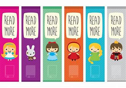 Bookmark Characters Character Bookmarks Printable Vectors Vector