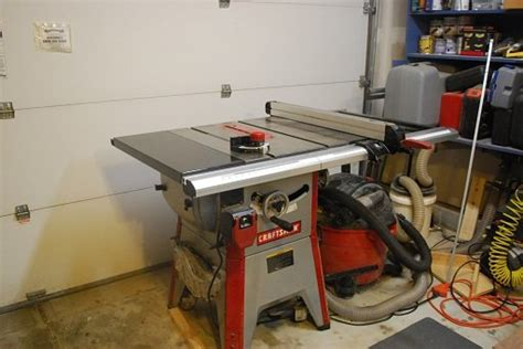 professional table saw reviews review craftsman 10 quot contractor table saw model 21833