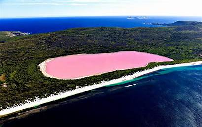 Lake Australia Hillier Pink Cave Giant Wallpapers