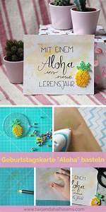 Was Heißt Diy Auf Deutsch : diy geburtstagskarte aloha basteln mit der s en ananas aus b gelperlen setzt du tolle ~ Orissabook.com Haus und Dekorationen