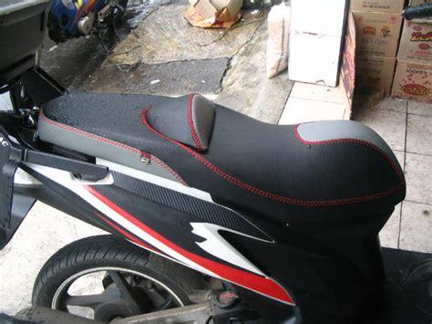 Jok Motor Ceper by Modifikasi Jok Motor Jok Vario Techno 125 Pesanan Mr