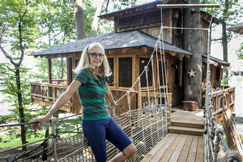 grown ups spent thousands  tricked  treehouses