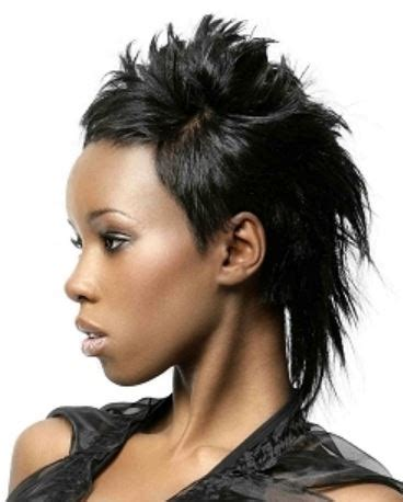 newest cool black women hairstyl  full layers  long hair     short  sides