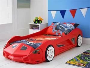Lit Enfant Voiture : le lit voiture pour la chambre de votre enfant ~ Preciouscoupons.com Idées de Décoration