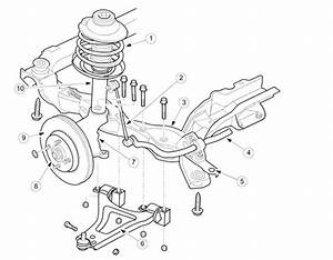 I Am Replacing The Front Struts On My  U0026 39 99 Ford Contour  I