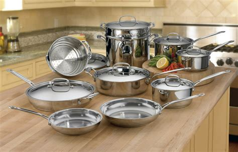 cookware cuisinart stainless classic chef steel piece kitchen ultimate chefs amazon pots sets brand pans manufacturer cook bringing steamer insert