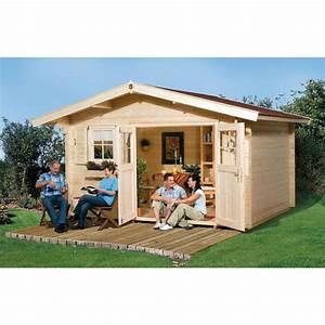 Gartenhaus Mit Vordach : weka 45 mm gartenhaus 136 mit vordach 60 cm mein ~ Articles-book.com Haus und Dekorationen
