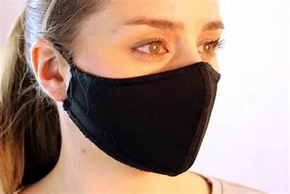 Schwarz Gesichtsmasken Gesichtsmaske Apona Surf