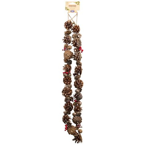 b m gt traditional garland christmas decoration 292614