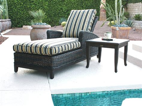 patio renaissance catalina wicker outdoor chaise lounge