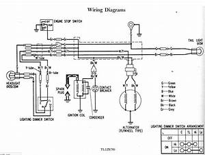 Cb 125 T Wiring Diagram