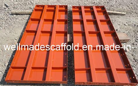 china construction concrete slab formwork metal form steel