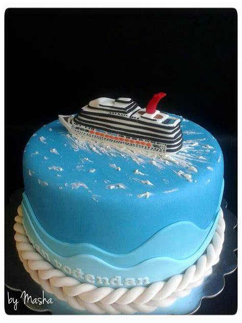 Cruise Ship Cake | Party Ideas - Cakes - Ships U0026 Boats | Pinterest | Cruise Ships Graduation ...