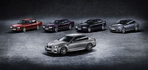 Most Powerful Production Car by Bmw M5 Celebrates 30 Years With Brand S Most Powerful
