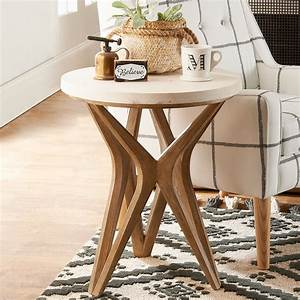 Handcrafted, Harmony, Side, Table
