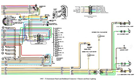 92 Mustang Heater Blower Wire Diagram by Free Auto Wiring Diagram 1967 1972 Chevrolet Truck