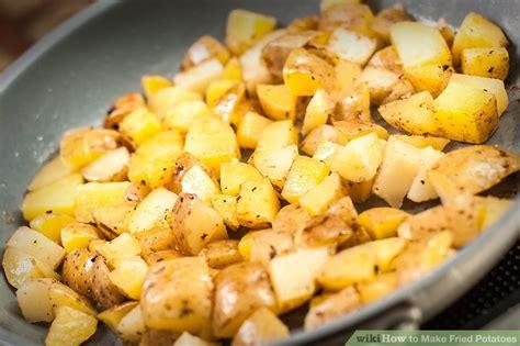 how to fry sliced potatoes 6 ways to make fried potatoes wikihow