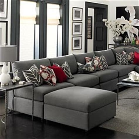 red and grey sofa grey living room sectional switch the red for purple