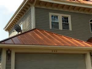 Copper Penny Metal Roof