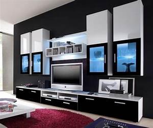 Meuble De Maison : meuble tv haut moderne ~ Teatrodelosmanantiales.com Idées de Décoration