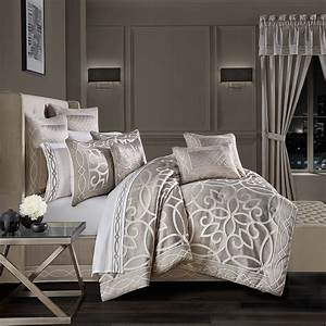 Deco, California, King, 4, Piece, Comforter, Set