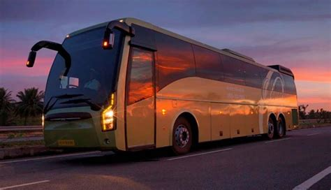 indian luxury buses olivea volvo bus review fare